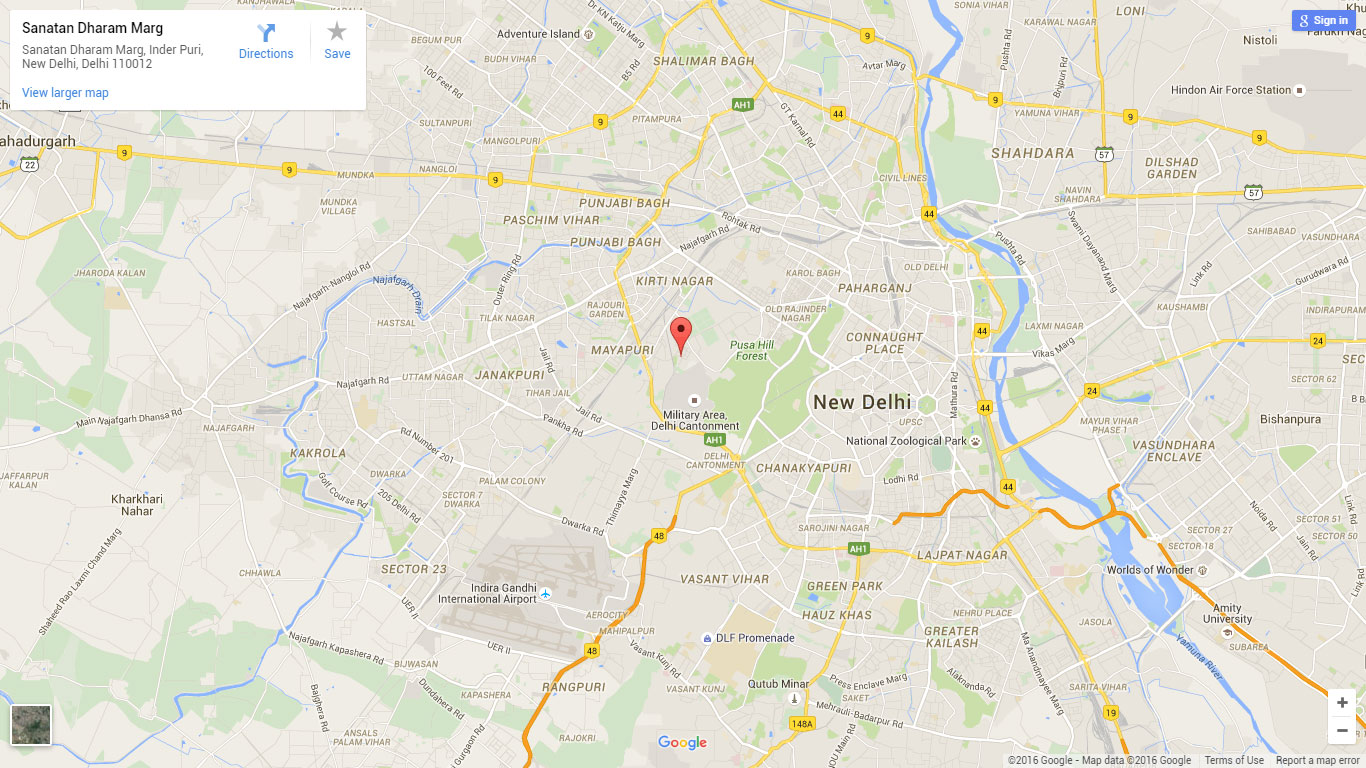 BoostSales contact us Delhi map