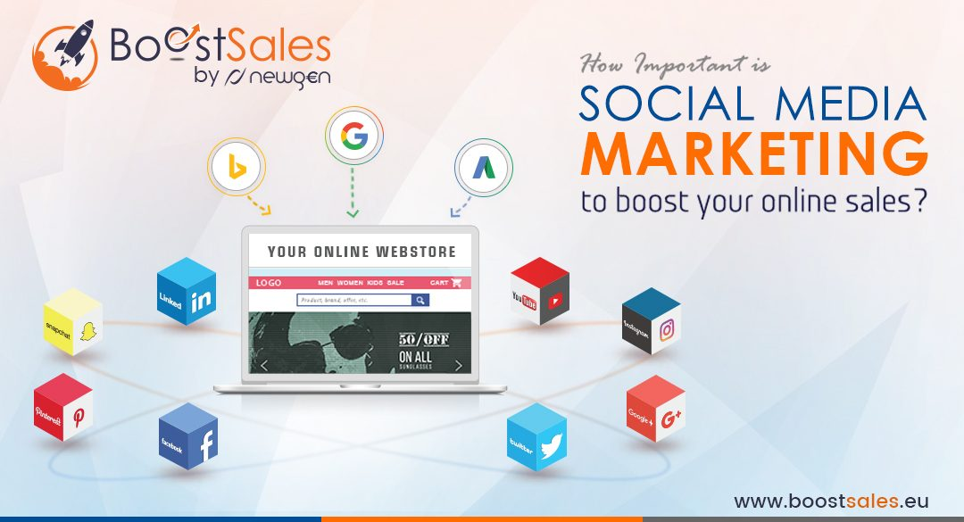 How Important is Social Media Marketing to Boost Your Online Sales?